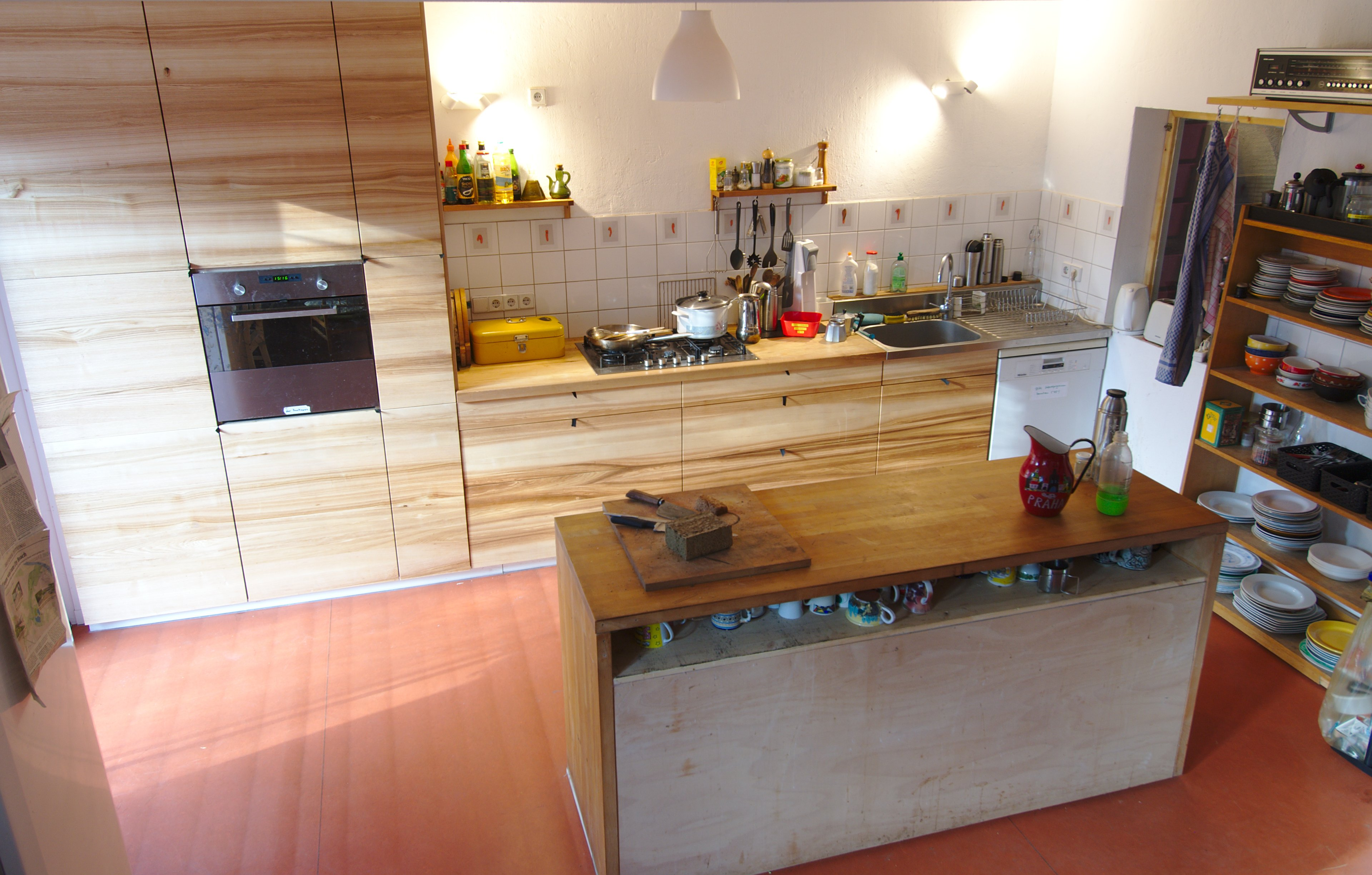 Großartig Große Küche Hausprojekte Bilder - Küchenschrank Ideen ...