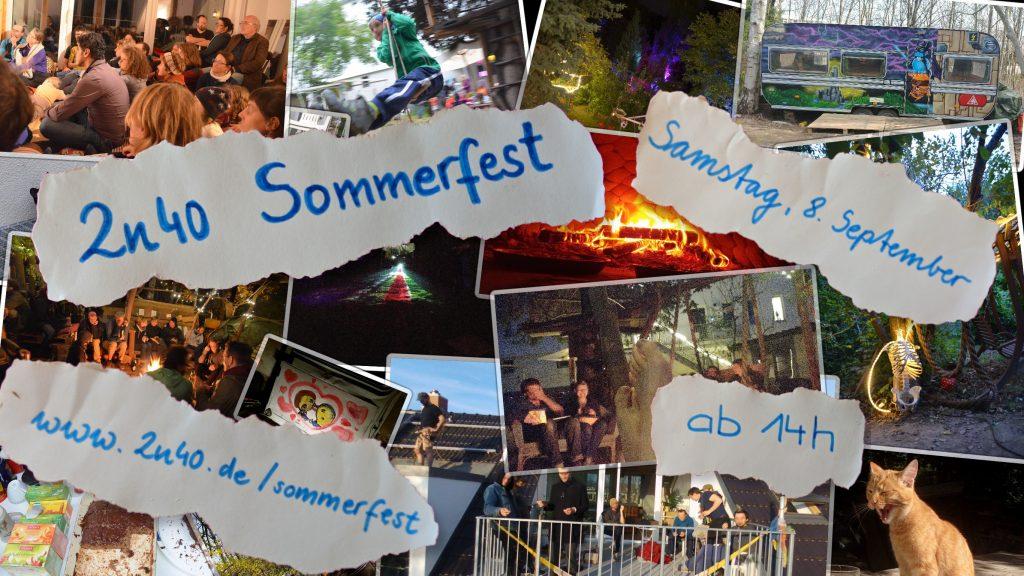 Flyer 2n40 Sommerfest